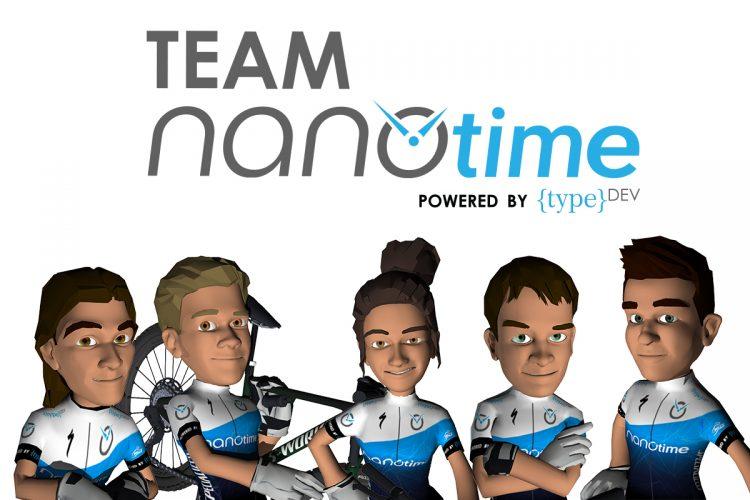 Meet Team NanoTime. From left to right the riders are: Matt Beers, Wessel Botha, Zandri Strydom, Stuart Marais and Nico Bell.