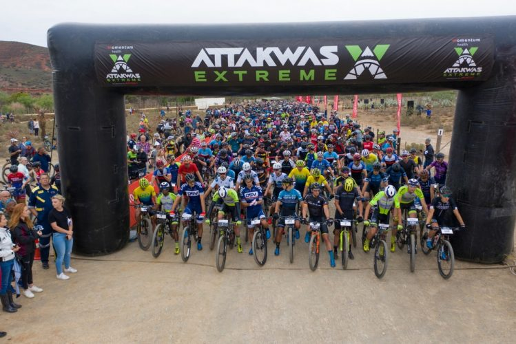 Hosting an event of the Momentum Medical Scheme Attakwas Extreme presented by Biogen's size is simply not possible within the current Garden Route regulations for combatting the spread of Covid-19. Photo by ZC Marketing Consulting.