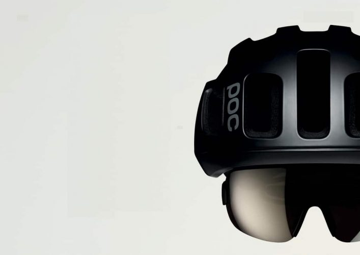 POC's helmets and eyewear are designed to pair perfectly. Photo by POC Sports.