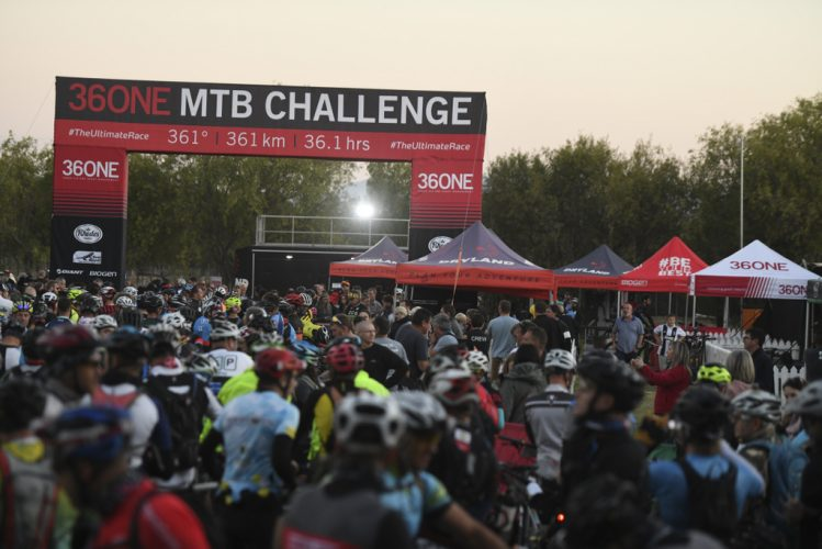 The 36ONE MTB Challenge attracts 1 000 mountain bikers, their family members and supporters, to the Klein Karoo town of Oudtshoorn annually. Photo by ZC Marketing Consulting.