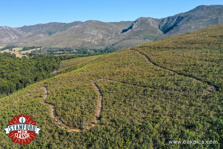 Each climb in the Stanford MTB Classic is well worth the effort as it provides rewards in the form of thrilling downhills and breath-taking views. Photo by Oakpics.com.