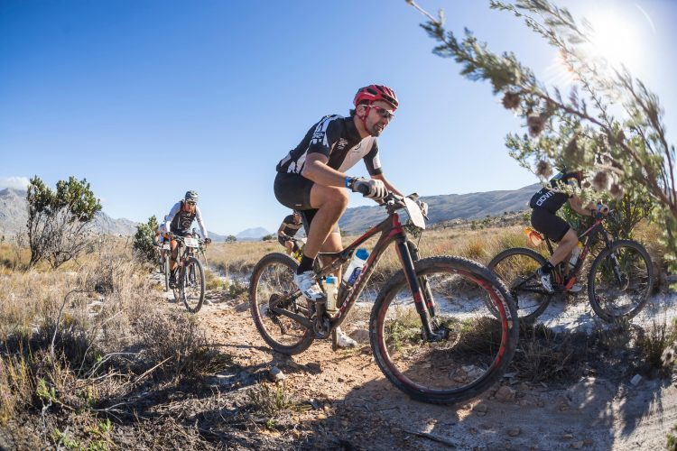Cape Epic Founder Kevin Vermaak during stage 3 of the 2016 Absa Cape Epic Mountain Bike stage race held from Saronsberg Wine Estate in Tulbagh to the Cape Peninsula University of Technology in Wellington, South Africa on the 16th March 2016  Photo by Dominic Barnardt/Cape Epic/SPORTZPICS