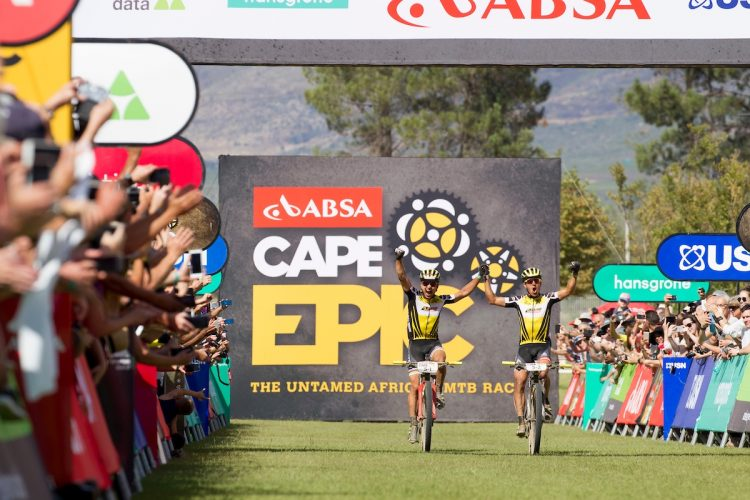 Absa Cape Epic 2017 Stage 7