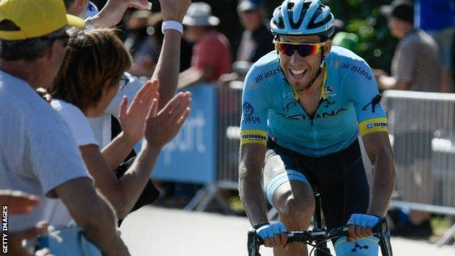 Omar Frailie Takes stage 14 le tour 2018