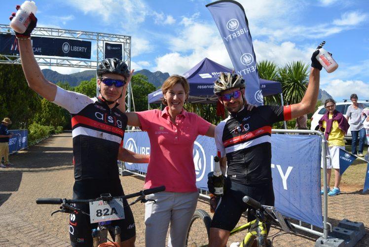 Pic 1 HB Kruger, Eldorette Carinus and Stuart Marais LR