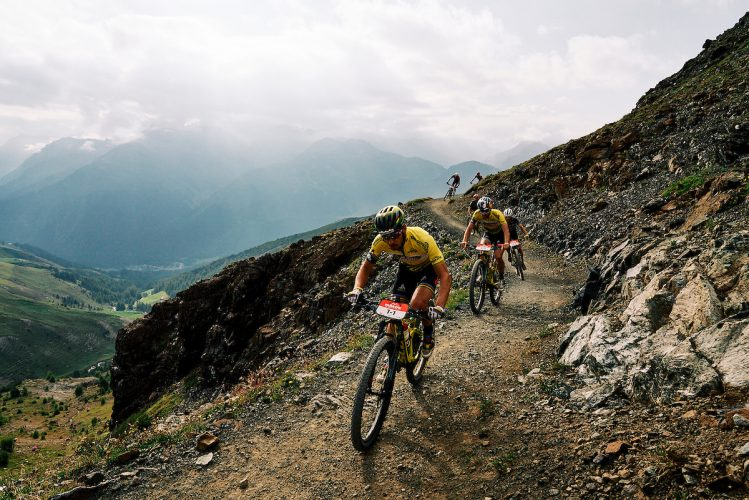 Nino SCHURTER and Lars FORSTER during Stage 5 of the 2020 Swiss Epic from Davos to Davos, Graubünden, Switzerland on 22 August 2020. Photo by Michael Chiaretta.