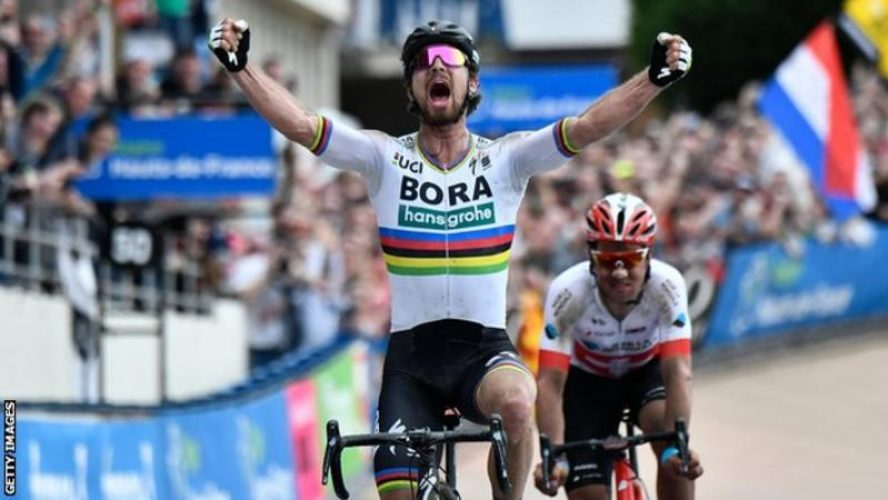 Sagan Wins Paris Roubaix 2018