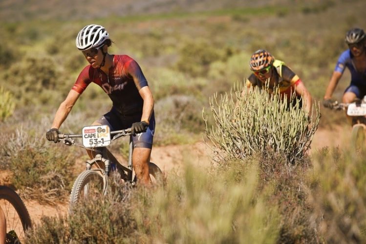 Team Spur on Stage 2 2018 Cape Epic